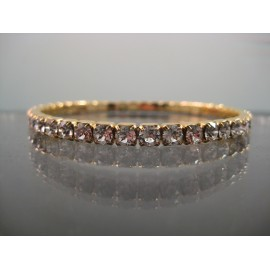 Swarovski Crystal Tennis Stretch Bracelet