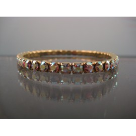 Swarovski Crystal AB Tennis Stretch Bracelet
