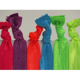 Neon Brights Hair Ties