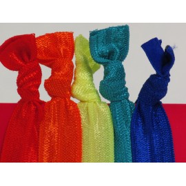 Rainbow 1 Hair Ties