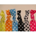 Light Polka Dot Hair Ties