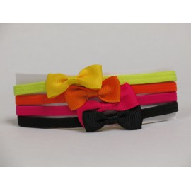 Girls Bow Headband - Amy