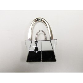 Black & White Purse Holder