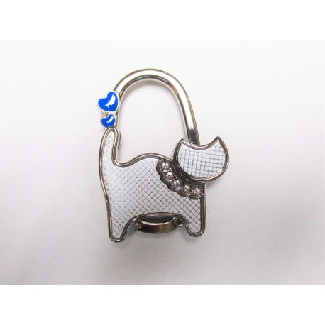 White Cat Purse Holder