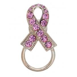 Pink Crystal Ribbon Eyeglass holders