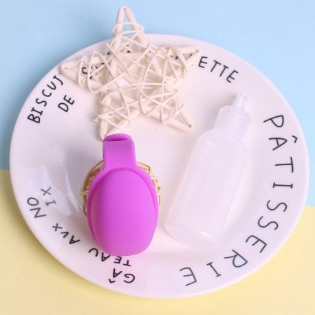 Purple Hand Sanitizer Bracelet